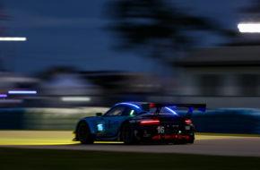 Ryan Harwick Patrick Long Jan Heylen Wright Motorsports Porsche 911 GT3 R IMSA WeatherTech SportsCar Championship Sebring