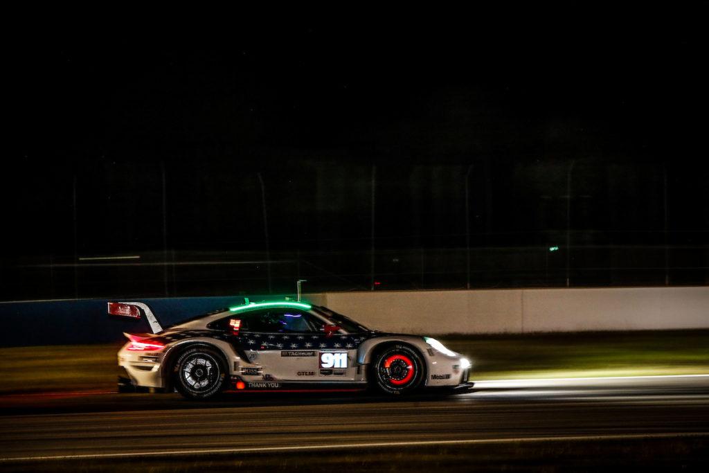 Nick Tandy Frédéric Makowiecki Earl Bamber Porsche GT Team Porsche 911 RSR IMSA WeatherTech SportsCar Championship Sebring