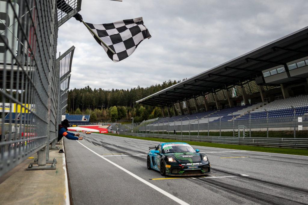 Jan Kasperlik Nicolaj Møller-Madsen Allied-Racing Porsche 718 Cayman GT4 Clubsport MR ADAC GT4 Germany Red Bull Ring