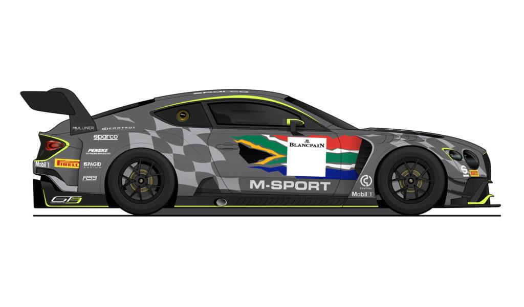 Bentley Team M-Sport 9h Kyalami