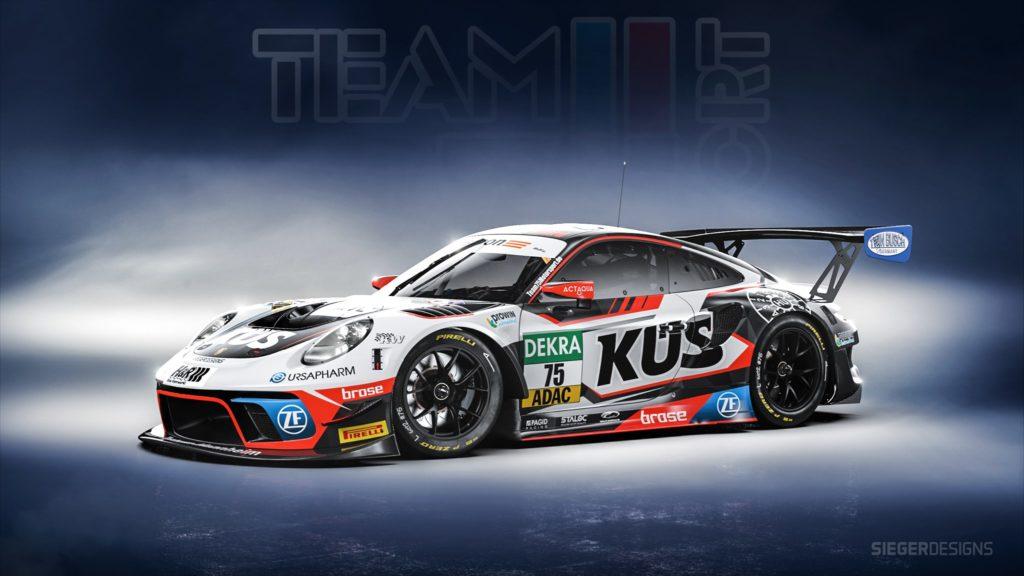 Team75 Bernhard Porsche 911 GT3 R ADAC GT Masters 2021