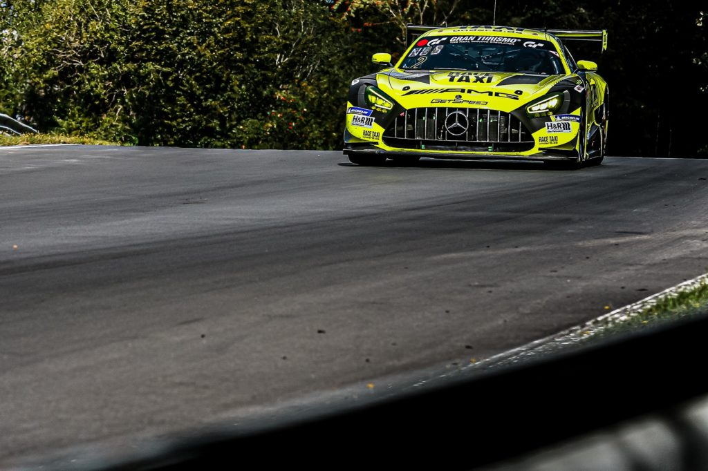 Raffaele Marciello Maximilian Buhk Maximilian Götz Fabian Schiller GetSpeed Performance Mercedes-AMG GT3 Nürburgring Langstrecken-Serie Nürburgring-Nordschleife