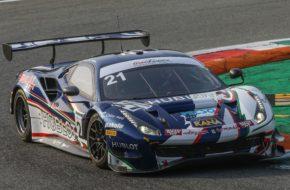 Simon Mann Matteo Cressoni AF Corse Ferrari 488 GT3 Italian GT Championship Monza