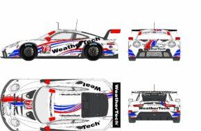 WeatherTech Racing Porsche 911 RSR