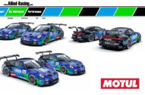 Bastian Buus Rudolf Rhyn Allied-Racing Porsche 911 GT3 Cup Porsche Carrera Cup
