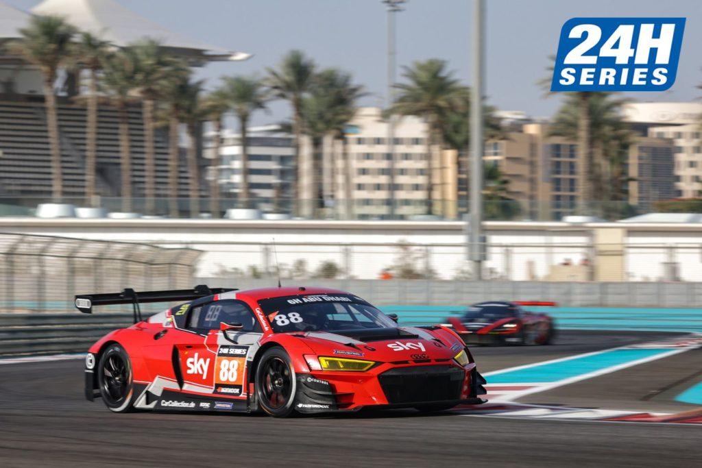 Antares Au Chris Froggatt John Loggie Car Collection Motorsport Audi R8 LMS GT3 24H Series 6h Abu Dhabi