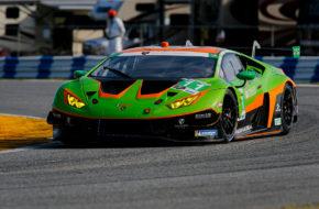 Richard Heistand Steijn Schothorst Albert Costa Franck Perera Grasser Racing Team Lamborghini Huracan GT3 IMSA WeatherTech SportsCar Championship 24h Daytona