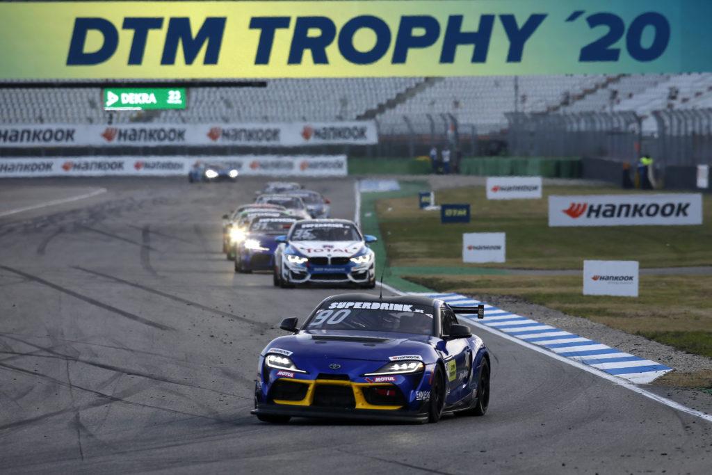 José María López Ring Racing Toyota GR Supra DTM Trophy Hockenheim