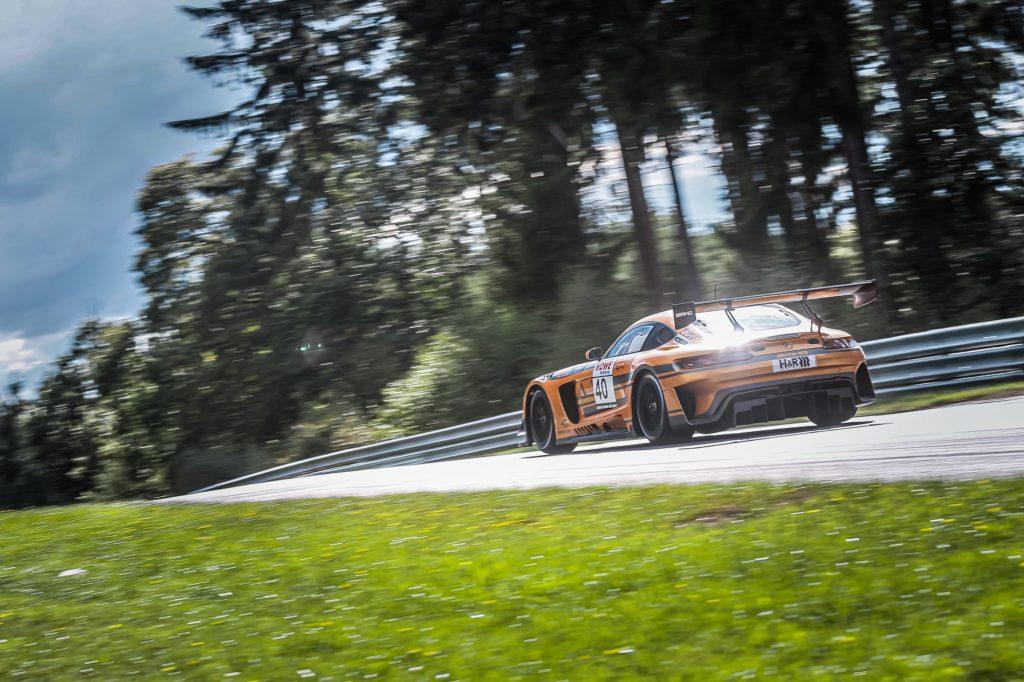 Kenneth Heyer Sebastian Asch Thomas Jäger Daniel Juncadella 10Q Racing Team Mercedes-AMG GT3 Nürburgring Langstrecken-Serie Nürburgring-Nordschleife