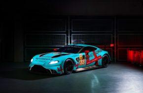 Ben Keating Felipe Fraga Dylan Pereira TF Sport Aston Martin Vantage GTE