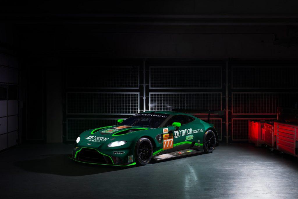 D'station Racing Aston Martin Vantage GTE