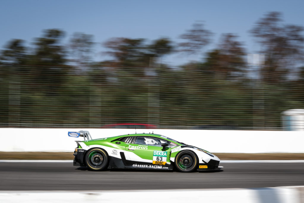 Franck Perera Albert Costa Grasser Racing Team Lamborghini Huracan GT3 ADAC GT Masters Hockenheim