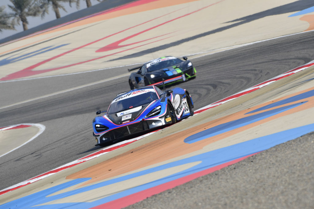 Isa Bin Abdulla Alkhalifa Ben Barnicoat Martin Kodric 2 Seas Motorsport McLaren 720S GT3 Gulf 12 Hours Bahrain