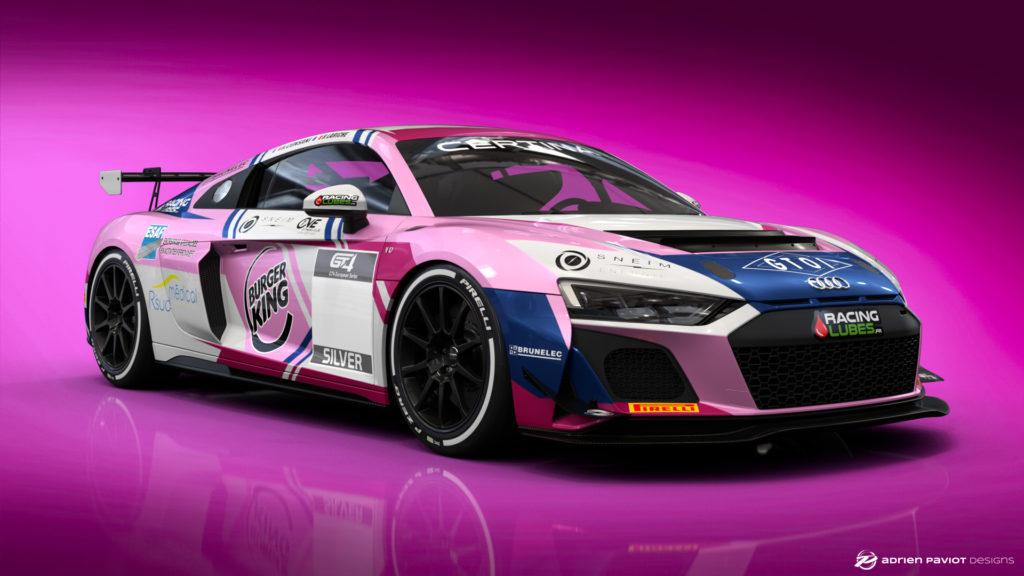 Team Speed Car Audi R8 LMS GT4