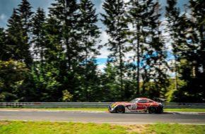 John Shoffner Janine Hill Jules Szymkowiak GetSpeed Performance Mercedes-AMG GT3 Nürburgring-Nordschleife Nürburgring Langstrecken-Serie