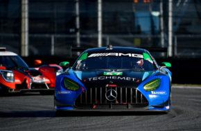 Russell Ward Indy Dontje Philip Ellis Maro Engel WINWARD Racing Mercedes-AMG GT3 IMSA WeatherTech SportsCar Championship 24h Daytona