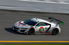 John Potter Andy Lally Mario Farnbacher Spencer Pumpelly Magnus with Archangel Acura NSX GT3 IMSA WeatherTech SportsCar Championship ROAR Daytona