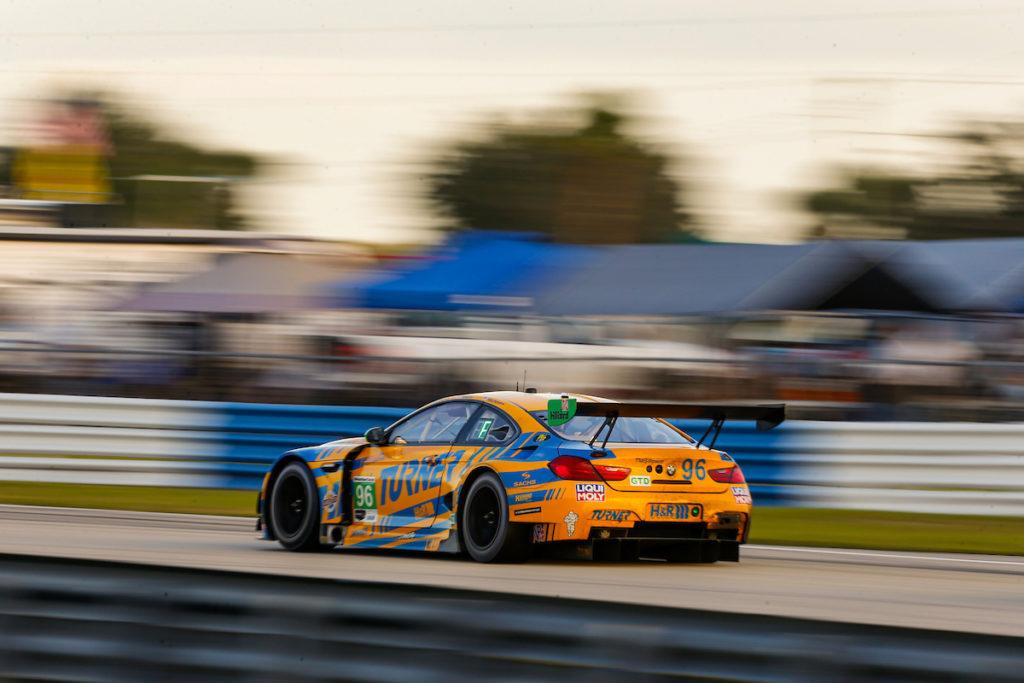 Nick Yelloly Dillon Machavern Robby Foley Turner Motorsports BMW M6 GT3 IMSA WeatherTech SportsCar Championship Sebring