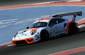 Julien Andlauer Axcil Jefferies Alain Ferté GPX Racing Porsche 911 GT3 R Asian Le Mans Series Dubai