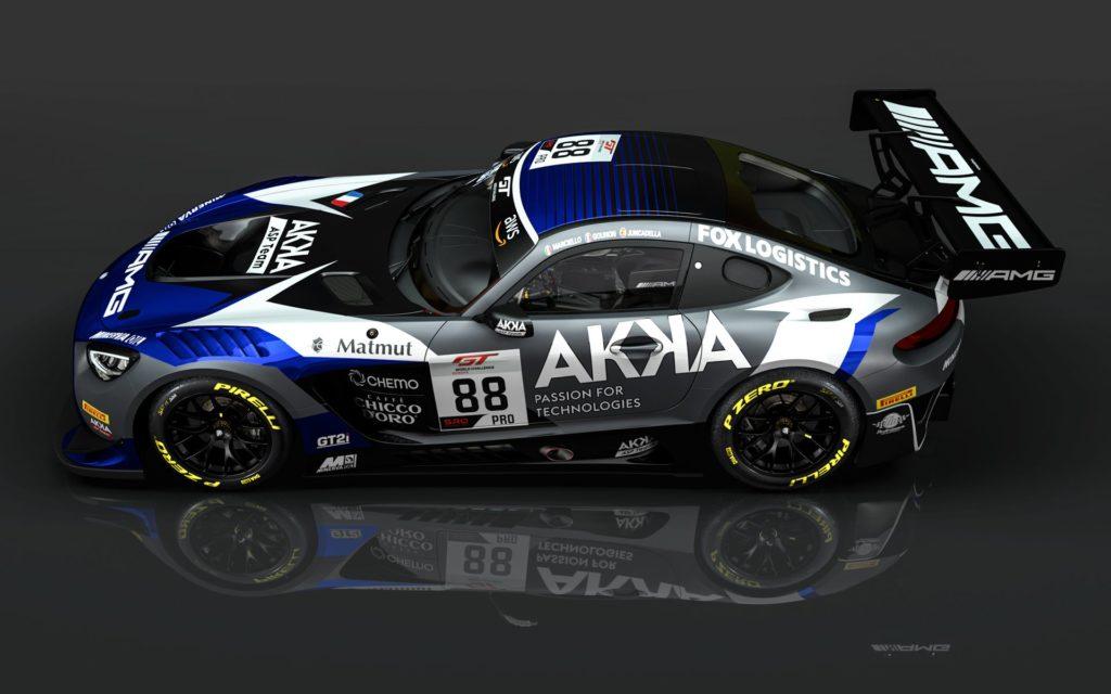 Raffaeke Marciello Daniel Juncadella Jules Gounon AKKA ASP Mercedes-AMG GT3 GT World Challenge Europe
