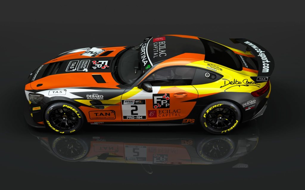 Hugo Chevalier Jean Ludovic Foubert CD Sport Mercedes-AMG GT4 GT4 European Series