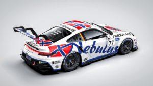 Leon Köhler Nebulus Racing by Huber Porsche 911 GT3 Cup