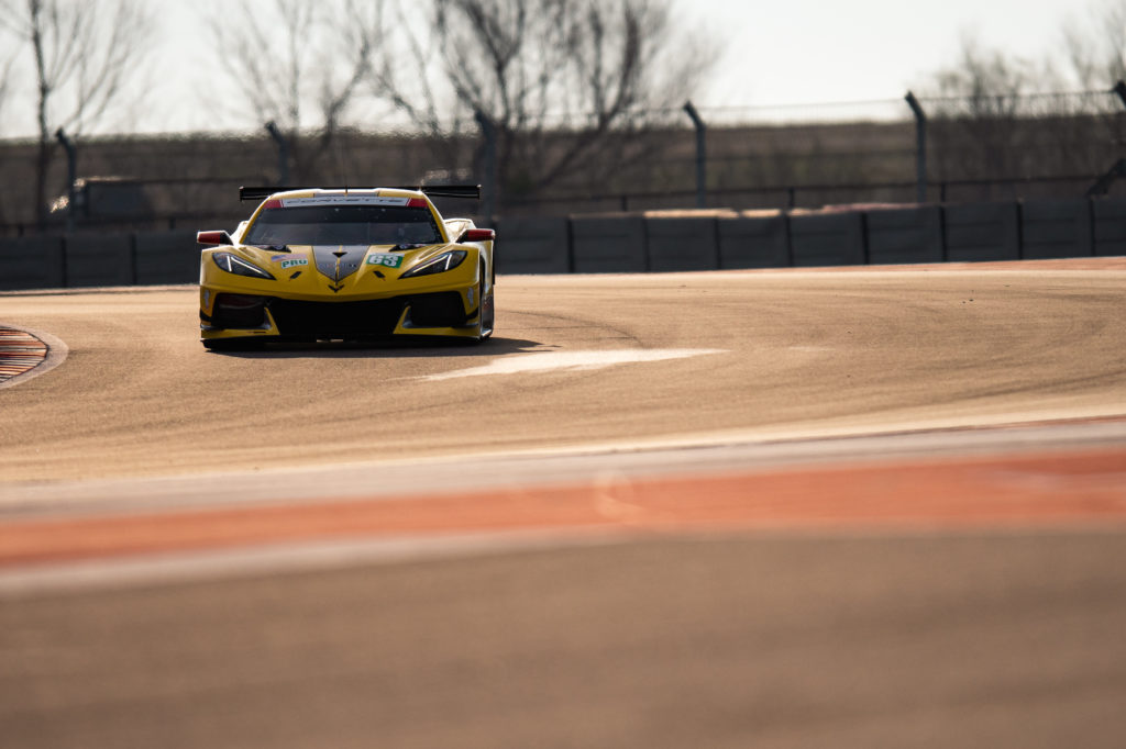 Mike Rockenfeller Jan Magnussen Corvette Racing Corvetet C8.R FIA WEC Austin