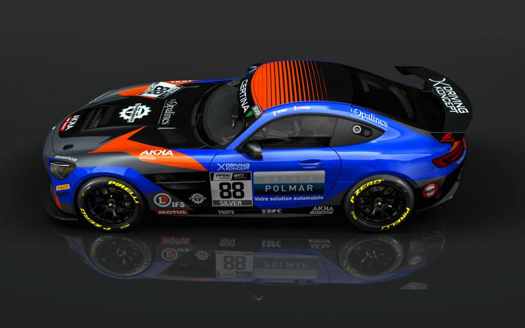 Timothé Buret Paul Evrard AKKA ASP Mercedes-AMG GT4 GT4 European Series