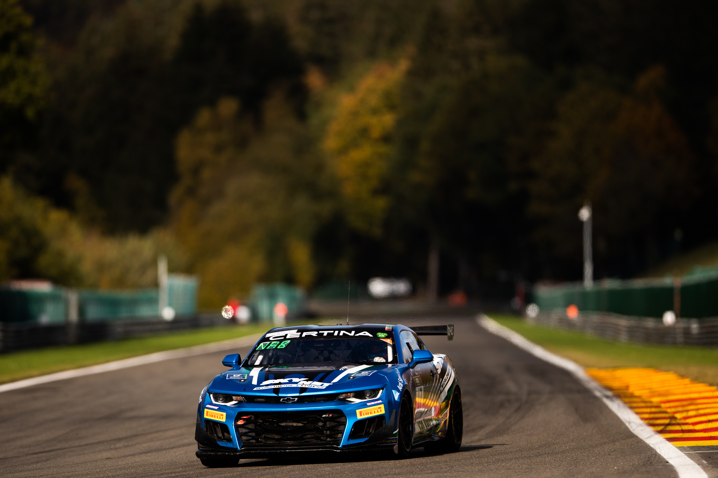 Jop Rappange Thijmen Nabuurs V8 Racing Chevrolet Camaro GT4.R GT4 European Series Spa Francorchamps
