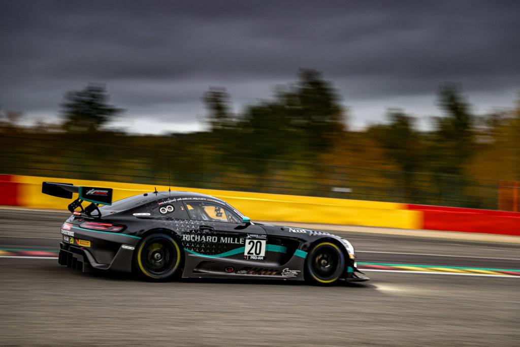 Valentin Pierburg Dominik Baumann George Kurtz Colin Braun SPS automotive performance Mercedes-AMG GT3 GT World Challenge Europe 24h Spa
