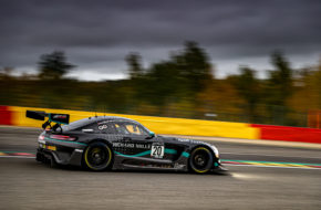 Valentin Pierburg Dominik Baumann George Kurtz Colin Braun SPS automotive performance Mercedes-AMG GT3 GT World Challenge Europe 24h Spa
