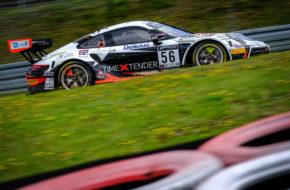 Adrien de Leener Mikkel Pedersen Andrea Rizzoli Dinamic Motorsport Porsche 911 GT3 R GT World Challenge Europe Nürburgring