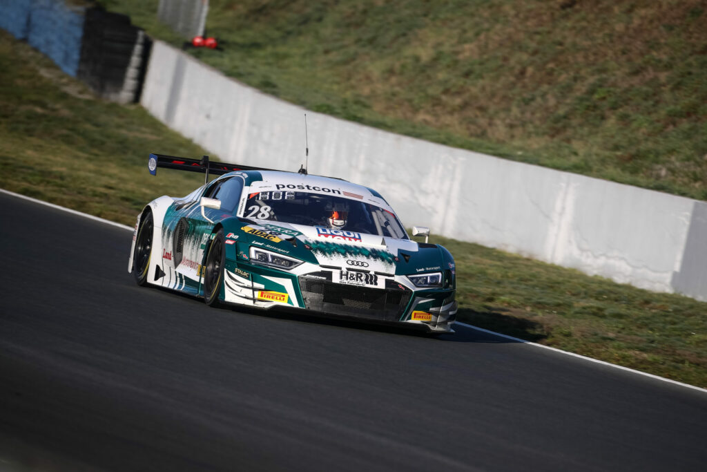 Christopher Haase Max Hofer Montaplast by Land-Motorsport Audi R8 LMS GT3 ADAC GT Masters Oschersleben