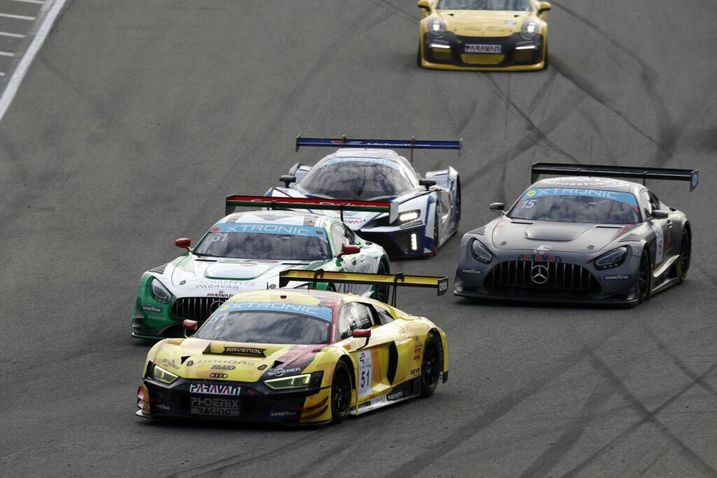 Vincent Kolb Phoenix Racing Audi R8 LMS GT3 GTC Race Hockenheim
