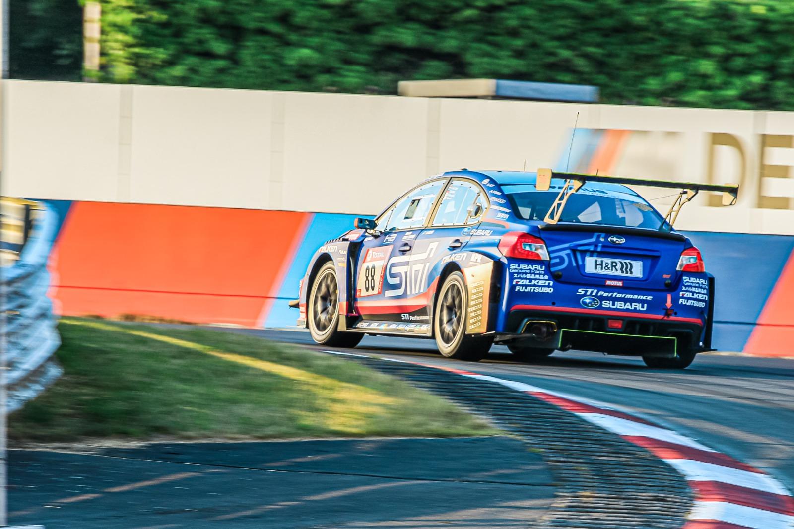 Carlo van Dam Tim Schrick Hideki Yamauchi Takuto Iguchi Subaru Tecnica International Subaru WRX STI 24h Nürburgring