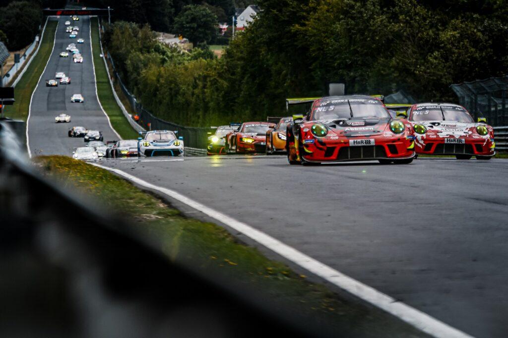 Klaus Abbelen Lance David Arnold Alex Müller Frikadelli Racing Team Porsche 911 Gt3 R Nürburgring Langstrecken-Serie Nürburgring-Nordschleife