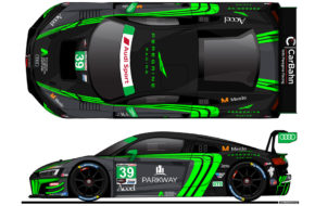 CarBahn with Peregrine Racing Audi R8 LMS GT3