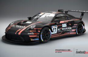 Al Faisal Al Zubair Andy Soucek Lechner Racing Porsche 911 GT3 R International GT Open