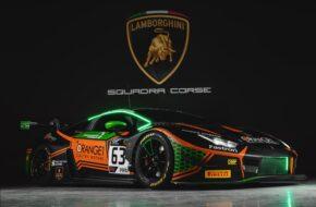 Marco Mapelli Andrea Caldarelli Mirko Bortolotti Orange1 FFF Racing Team Lamborghini Huracan GT3