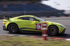 Pascal Bachmann Clement Seyler Street Art Racing Aston Martin Vantage GT4 GT4 European Series Nürburgring