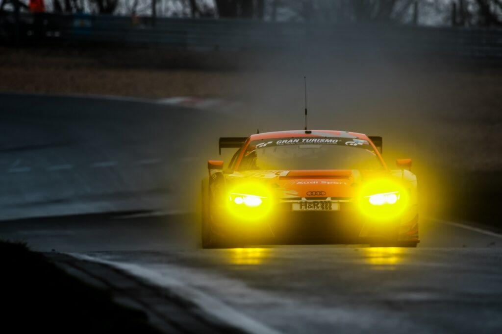 Dennis Marschall Christer Jöns Audi Sport Team Phoenix Audi R8 LMS GT3 Nürburgring Langstrecken-Serie Nürburgring-Nordschleife