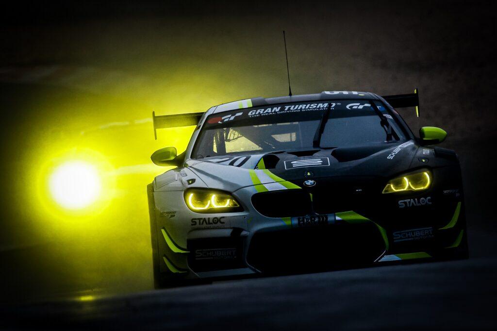 Jens Klingmann Stef Dusseldorp Schubert Motorsport BMW M6 GT3 Nürburgring Langstrecken-Serie Nürburgring-Nordschleife