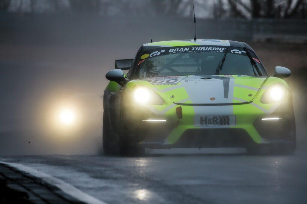 Daniel Blickle Tim Scheerbarth Max Kronberg W&S Motorsport Porsche 718 Cayman GT4 Clubsport MR Nürburgring Langstrecken-Serie Nürburgring-Nordschleife