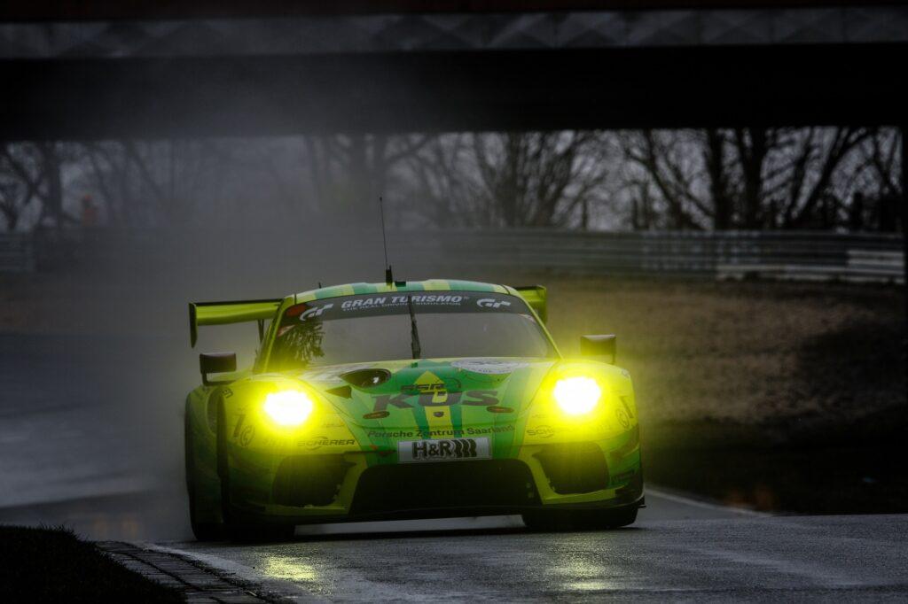 Kevin Estre Lars Kern Manthey-Racing Porsche 911 GT3 R Nürburgring Langstrecken-Serie Nürburgring-Nordschleife