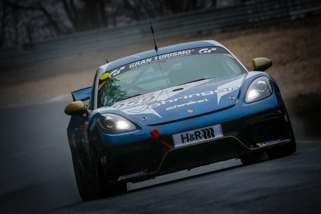 Niklas Steinhaus Jürgen Vöhringer W&S Motorsport Porsche 718 Cayman GT4 Clubsport MR Nürburgring Langstrecken-Serie Nürburgring-Nordschleife