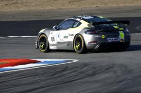 Daniel Blickle Kevin Arnold W&S Motorsport Porsche 718 Cayman GT4 Clubsport MR GTC Race Hockenheim