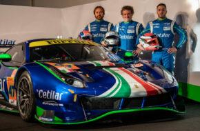 Antonio Fuoco Giorgio Sernagiotto Roberto Lacorte Cetilar Racing Ferrari 488 GTE
