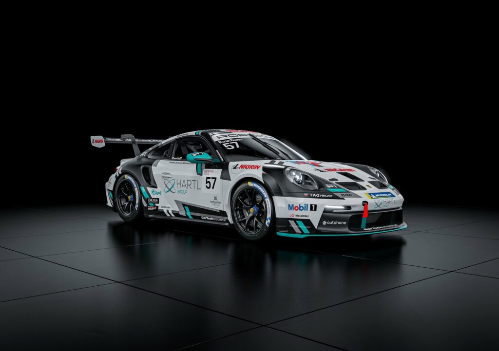 Rudy van Buren CarTech Motorsport Porsche 911 GT3 Cup