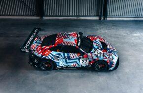 Mathieu Jaminet Matt Campbell Earl Bamber GPX Racing Porsche 911 GT3 R