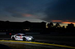 Mathieu Jaminet Matt Campbell Cooper MacNeil WeatherTech Racing Porsche 911 RSR IMSA WeatherTech SportsCar Championship Sebring